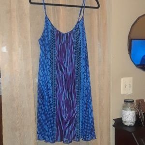 Express Lined Dress Size Large
